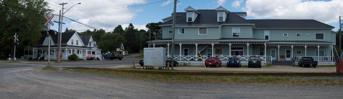 Panoramic View - W.W.E. Smith's Country Store & Floyd Thompson's Apartments